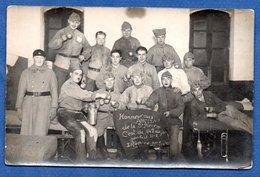 Carte Photo  -  Groupe De Soldats - War 1914-18