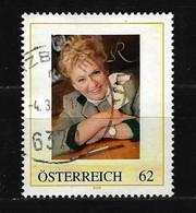 ÖSTERREICH Rosi Schipflinger Kitzbühel Gestempelt (10) - Österreich