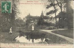 SENONES , Ancienne Capitale De La Pricipauté De Salm , L' Abbaye Et Son Parc , 1914 , CPA ANIMEE - Senones
