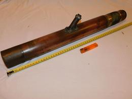 GRANDE OPTIQUE De POINTAGE ROYAL NAVY 1914 - EN BRONZE - V P 3-9 GUN SIGHT - Optique