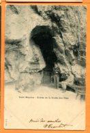 V100, Saint-Maurice, Entrée De La Grotte Aux Fées,précurseur Animée,121, Jullien Frères,circulée 1901 - VS Valais