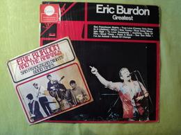 ERIC BURDON / THE ANIMALS. LOT D UN 33 D UN DOUBLE 33 ET D UN 45 TOURS. 1967 / 1978 SAN FRANCISCAN NIGHTS / GOOD TIMES - Rock