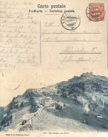 "AK  ""Rigi - Staffel Und Kulm""  (RIGI-KULM)            1907 - 1882-1906 Armarios, Helvetia De Pie & UPU"