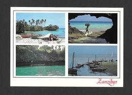 ZANZIBAR - AFRICA - AFRIQUE - ZANZIBAR SEASCAPES - BY JOHN HINDE ORIGINAL - Cartes Postales