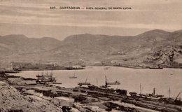 CARTAGENA VISTA GENERAL DE SANTA LUCIA - Murcia