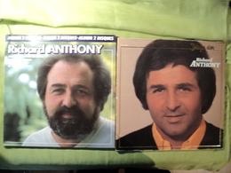 RICHARD ANTHONY. LOT D 1 DOUBLE 33 TOURS ET D UN 33 TOURS. 1980 / 1982 J ENTENDS SIFFLER LE TRAIN / NOUVELLE VAGUE / LE - Vinyles