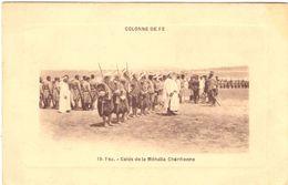 Colonne De Fez Caids De La Méhalla Chérifienne - Fez