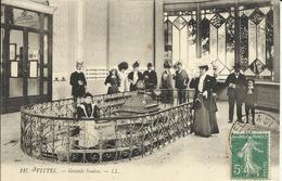 VITTEL , Grande Source , 1909 , CPA ANIMEE - Vittel Contrexeville