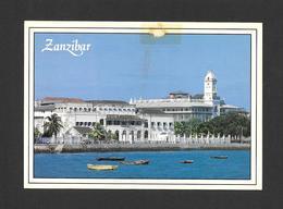 ZANZIBAR - AFRICA - AFRIQUE - PEOPLE'S PALACE AND THE HOUSE OF WONDERS ZANZIBAR - BY JOHN HINDE ORIGINAL - Cartes Postales