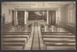 +++ CPA - Pensionnat Des Religieuses Servantes De Marie à ERPS - QUERBS - KWERPS - Salle Des Fêtes   // - Kortenberg