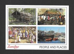 ZANZIBAR - AFRICA - AFRIQUE - PEOPLE AND PLACES ZANZIBAR - BY JOHN HINDE ORIGINAL - Cartes Postales