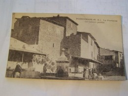 41f     PUIMOISSON  La Fontaine Le Lavoir Public - Autres Communes
