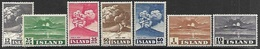Iceland  1948   Sc#246-52  Volcano Set   MLH   2016 Scott Value $47.50 - 1944-... Republique