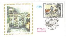 FDC Utrillo Vue De Montmartre (75 Paris1983) - FDC