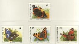 "PIA  - BELGIO  -  1993: Serie ""Natura"" - Farfalle -    (YV  2491-92) - Belgique"