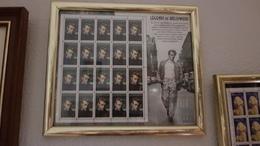 Pliego De Hoja Conmemorativo  James Dean  Enmarcado - Other Collections