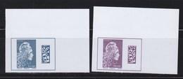 = Marianne L'Engagée 2018 Coins Haut De Feuillet Non Dentelé Neufs Type Gommé Monde Type Du 5258 Europe Type Du 5257 - 2018-... Marianne L'Engagée