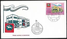 1971 - SAN MARINO - FDC + Y&T 786 [I.S.F.I.] + SAN MARINO - FDC