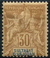 Anjouan (1892) N 9 * (charniere) - Ongebruikt