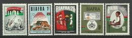 BIAFRA 1968 1st ANNIVERSARY OF INDEPENDENCE SET MNH - Postzegels