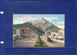 ##(DAN1812)-Canada - Banff - Main Street And Cascade Mountain - Used 1921 To  Holland - Banff