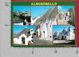 CARTOLINA VG ITALIA - ALBEROBELLO (BA) - Vedutine Multivue - 10 X 15 - ANN. 19?? - Bari