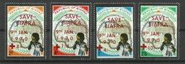 BIAFRA 1970 SAVE BIAFRA OVERPRINTED ON INDEPENDENCE ANNIV., SET MNH - Postzegels