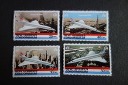 NOUVELLES HEBRIDES N°531/34** MNH - Franse Legende