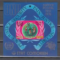 Comores 1976,1 Block,IMP,centenario De La UPU 1874-1974,Union Postale Universelle,MNH/Postfris(L3348) - UPU (Universal Postal Union)