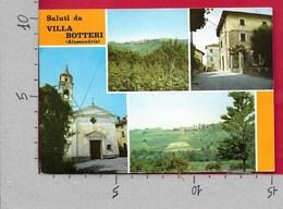 CARTOLINA VG ITALIA - Saluti Da VILLA BOTTERI (AL) - Vedutine Multivue - 10 X 15 - ANN. 1975 - Saluti Da.../ Gruss Aus...