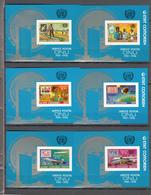 Comores 1976,6 Blocks,IMP,centenario De La UPU 1874-1974,Union Postale Universelle,MNH/Postfris(L3349) - UPU (Universal Postal Union)