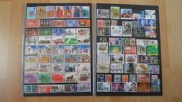 Großbritanien Mit Dubletten - 1080 Marken - Briefmarken