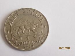 East Africa: 1 Shilling 1952 - Colonie Britannique