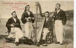 CPA 64 BIARRITZ. QUATUOR NAPOLITAN VOCAL ET INSTRUMENTAL DE PALMA  1904 - Biarritz
