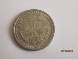 India: 50 Paise 1968 - Inde