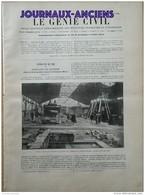 """1900 - EXPOSITION DE 1900 INSTALLATION DES CHAUDIERES - VOITURE JENATZY - CANAL DU PANAMA - PAQUEBOT """" LA SAVOIE """" - Documents Historiques"""