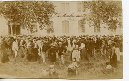 115. CPA PHOTO A IDENTIFIER ET LOCALISER. CACHET AU DOS GIROU PHOTOGRAPHE A TONNEINS 1902 - Tonneins