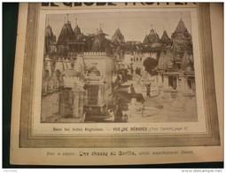 """1901 LES INDES ANGLAISES BENARES / LA TRIBU """" LES COCOPAS """"  / CHASSE AU GORILLE /  MAITRE JEAN /  LE GLOBE TROTTER - Journaux - Quotidiens"""