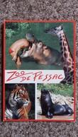 CPM ZOO DE BORDEAUX PESSAC GIRAFE HIPPOPOTAME TIGRE OTARIE ROCADE SORTIE N° 12 - Hippopotames