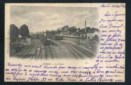 58  COSNES   .... La Gare Arrivee Du Train - Cosne Cours Sur Loire