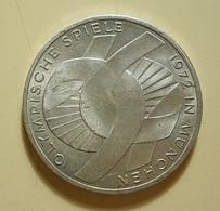 Germany 10 Mark 1972 G Silver - [ 7] 1949-… : FRG - Fed. Rep. Germany