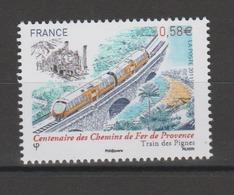 FRANCE / 2011 / Y&T N° 4564 ** : Chemins De Fer De Provence - Gomme D'origine Intacte - France