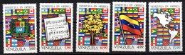 Serie Nº  841/5  Venezuela - Venezuela