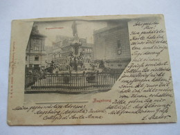 AUGSBURG  -  PRECURSEUR DE 1899  -      AUGUSTUSBRUNNEN         TTB - Augsburg