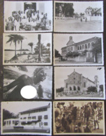 Lot De 8 Cartes Postales CPSM Principalement Dahomey (Bénin) Dont Cartes Photos, Animées, Porto-Novo, Etc... - Cartes Postales