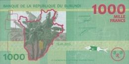BURUNDI P. 51 1000 F 2015 UNC - Burundi