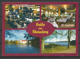 Germany Post Card RHEINSBERG Sent 1997 With Stamp - Rheinsberg