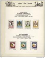 C 125++ -  Papouasie - Nouvelle Guinée  :   Collection Complète  **  Yv  94-625  + Distributeur 1a Et Blocs 1-3 - Papouasie-Nouvelle-Guinée