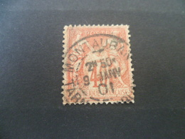 SAGE  40 Cts  Oblitere - 1876-1898 Sage (Type II)