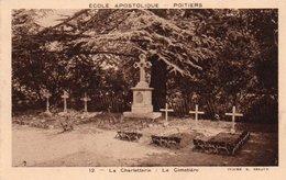 85Ct   86 Poitiers Ecole Apostolique La Charletterie Le Cimetiére - Poitiers